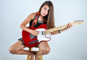 צילום בת מצווה סטודיו גיטרה
